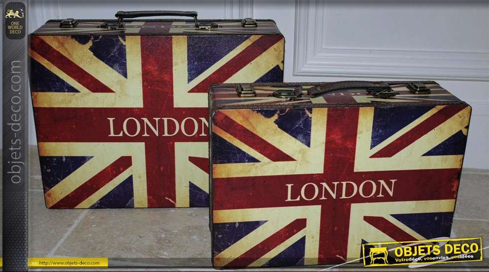 valises d co union jack so british. Black Bedroom Furniture Sets. Home Design Ideas