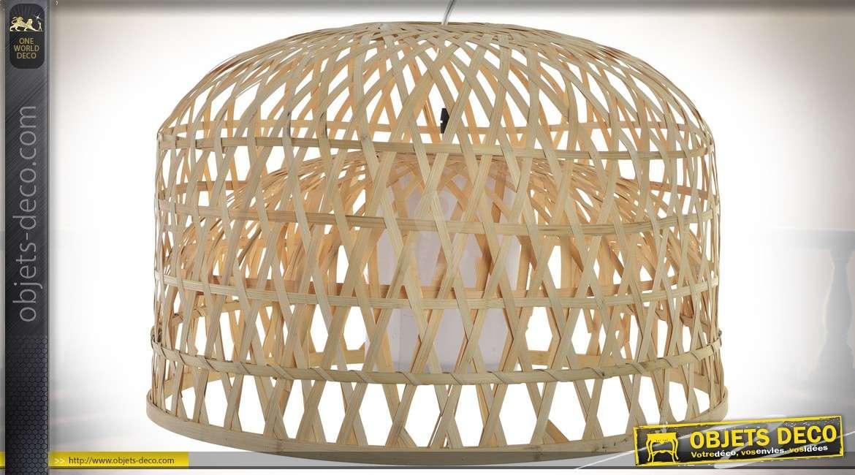 Lustre en bambou finest coup de cur pour le luminaire - Suspension luminaire exotique ...