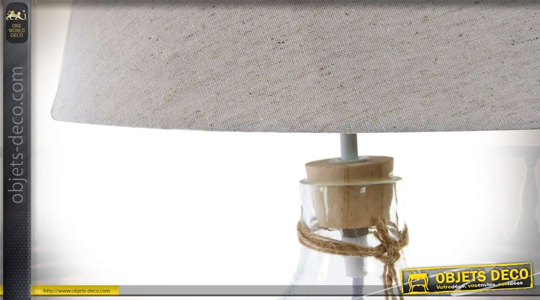 De Bord Et Verre Mer Salon Coquillages En 50 Lampe Esprit Cm uKJT31clF5
