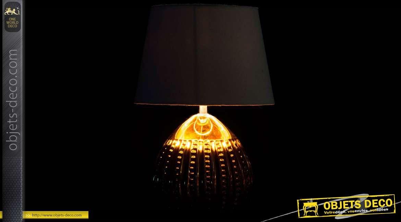 Duo Lampes Table En Blanc De Et ArgentAbat Jour Céramique Or SMVqpUz