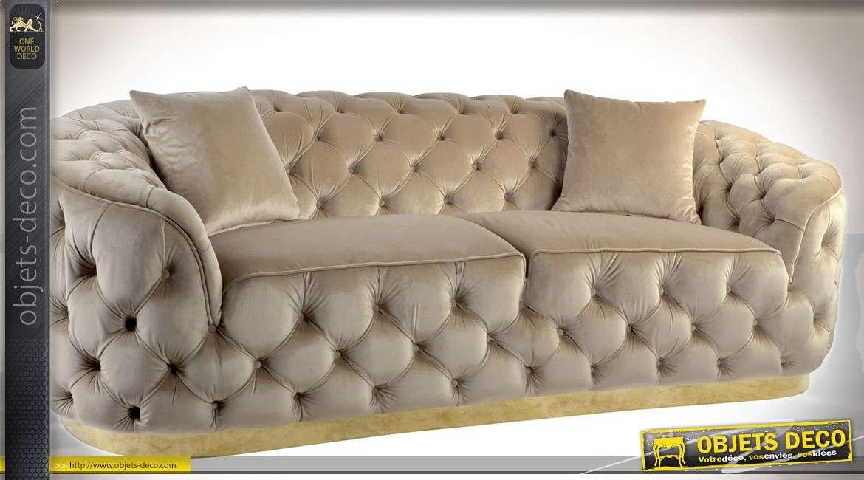 banquette canap bois et tissu habillage multicolore toucher velours. Black Bedroom Furniture Sets. Home Design Ideas