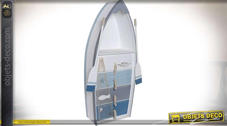 Meuble Etagere En Forme De Barque De Pecheur Style Bord De