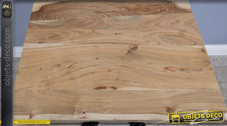 Plateau en bois d'acacia pour table carrée de 80 x 80cm