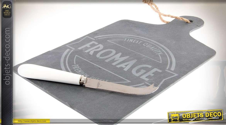Planche d couper en ardoise plateau de pr sentation for Planche ardoise cuisine