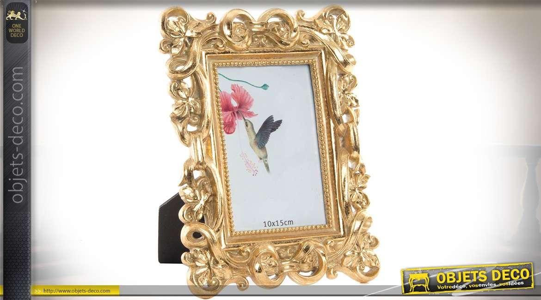 Encadrement Baroque cadre photo à poser pour photo 10 x 15 cm encadrement baroque doré