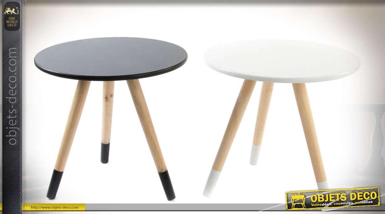 petite table basse blanche scandinave. Black Bedroom Furniture Sets. Home Design Ideas