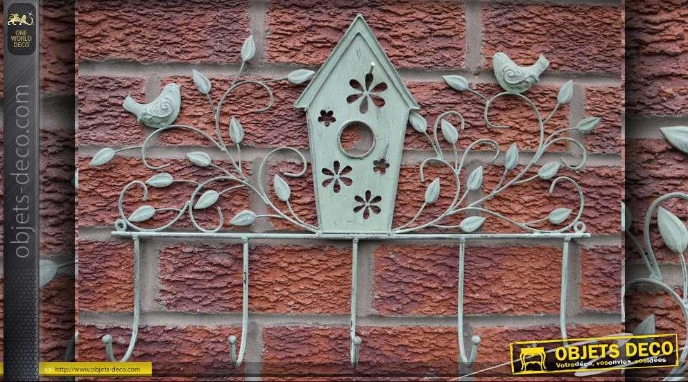 Porte manteaux d co murale fer forg - Deco murale fer forge ...