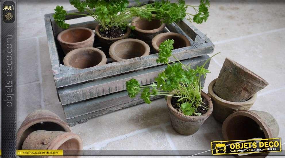 decoration de jardin avec des pots en terre - Decoration De Pot En Terre Cuite