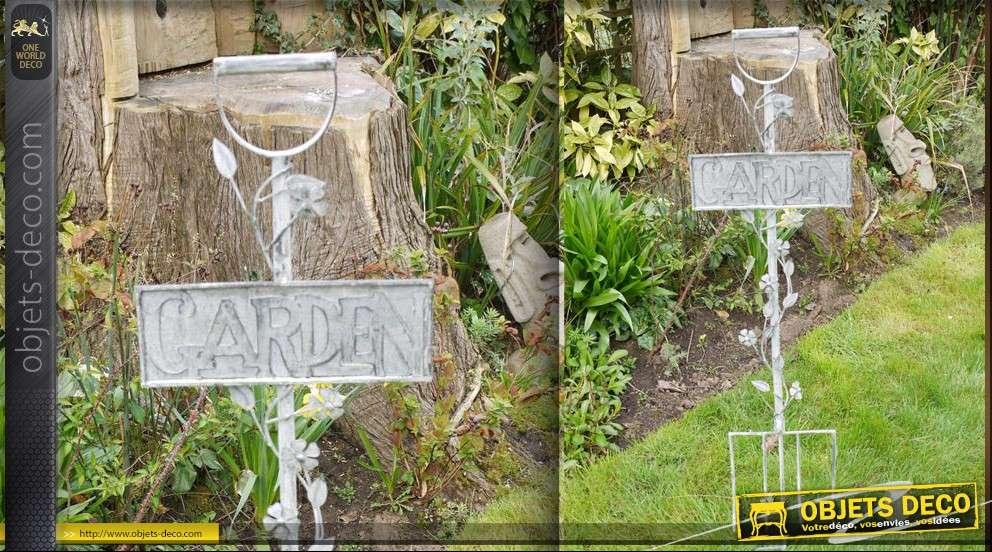 Merveilleux Objet Deco Jardin Fer Forge