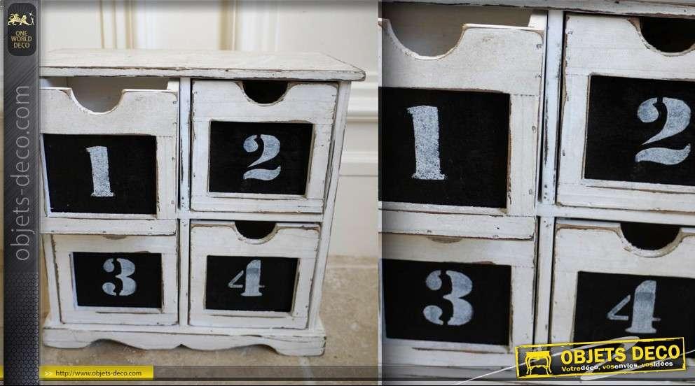 petit meuble de rangement 4 tiroirs. Black Bedroom Furniture Sets. Home Design Ideas