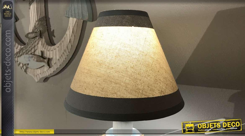 Lampe de table en forme de phare de mer 43 cm