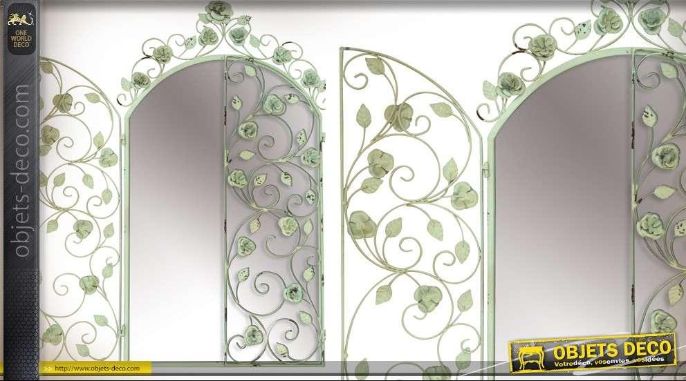 Miroir fenetre en fer forge for Design fer forge fenetre
