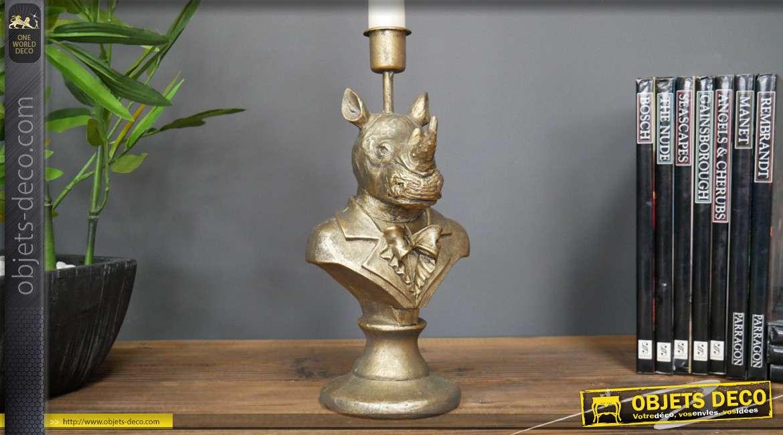Chandelier en résine collection Chateau de Baviere, Sir Rhino