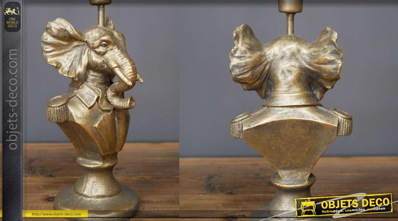 Chandelier en résine collection Chateau de Baviere, Sir Elefant