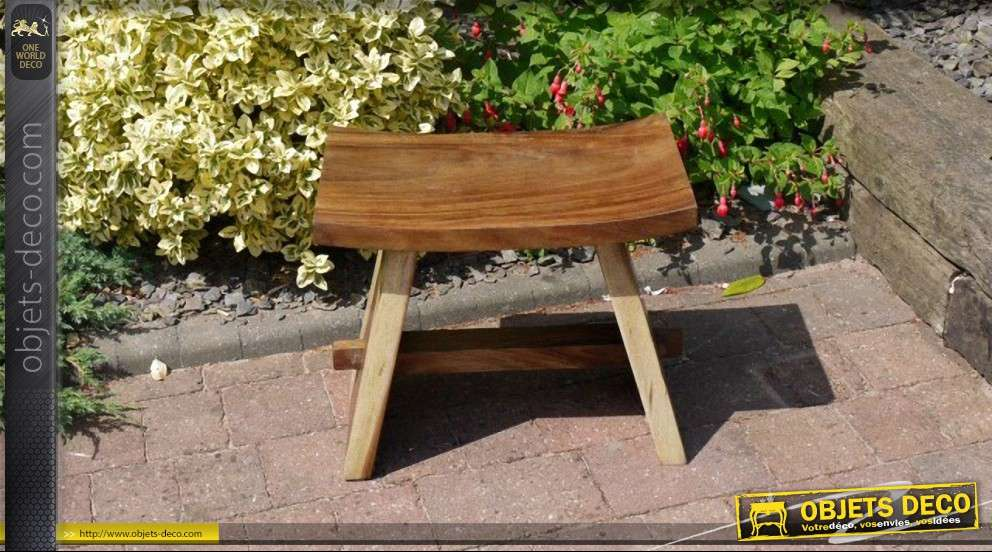 tabouret rustique bois massif. Black Bedroom Furniture Sets. Home Design Ideas