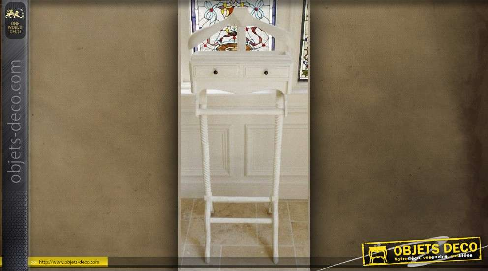 emejing valet de chambre bois blanc ideas awesome. Black Bedroom Furniture Sets. Home Design Ideas