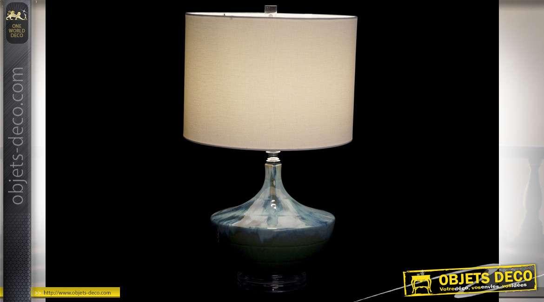LAMPE DE TABLE CÉRAMIQUE 36X36X61 2,6 KG.