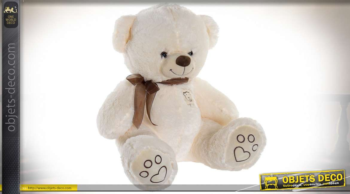 PELUCHE POLYESTER 43X50X50 OURS