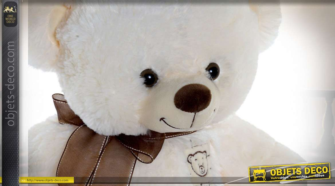 PELUCHE POLYESTER 38X38X40 OURS