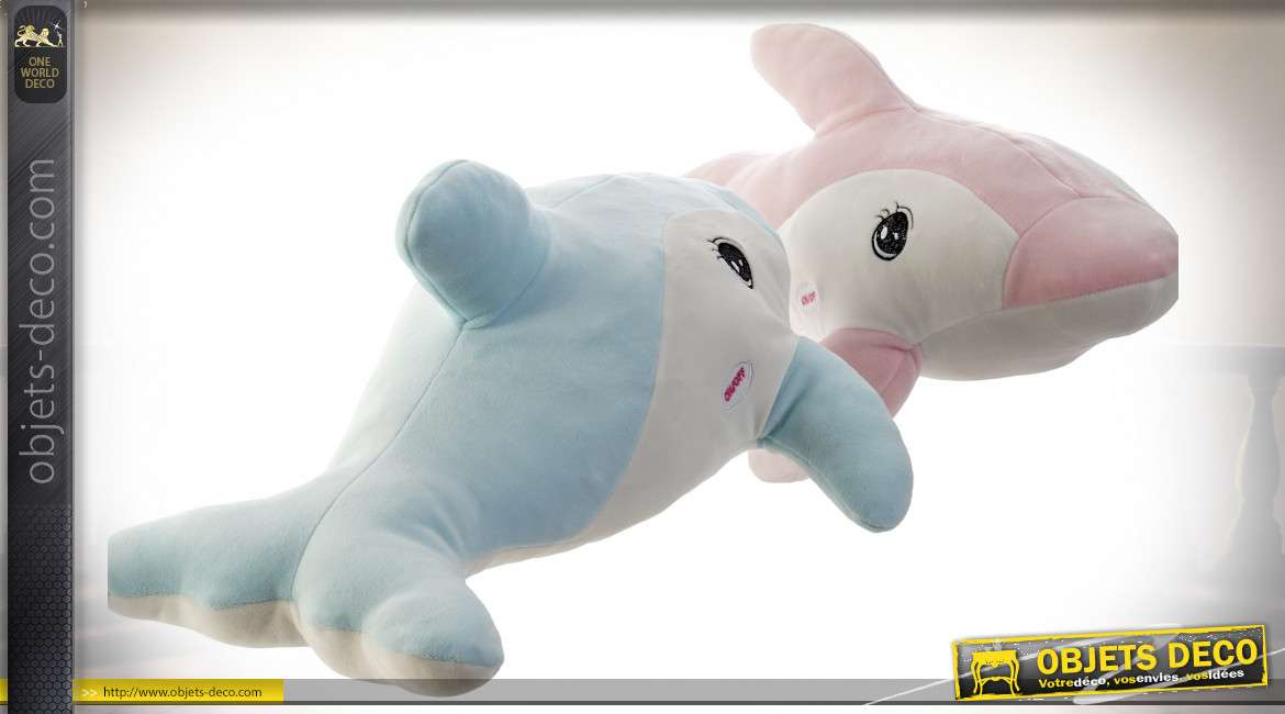 PELUCHE POLYESTER LED 50X25X35 0,32 DAUPHIN 2 MOD.