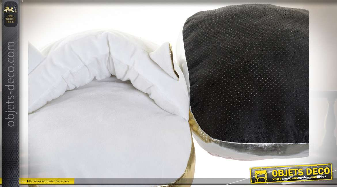 CHAUFFE PIEDS POLYESTER 30X37X15 CHAT 2 MOD.