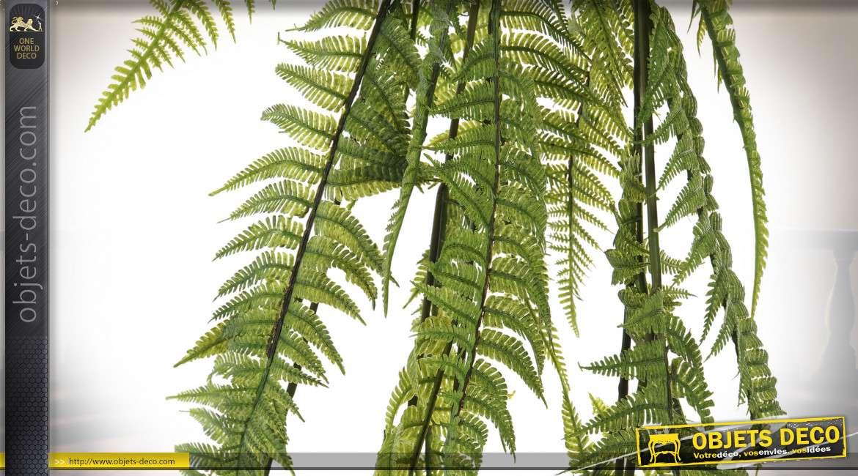PLANTE PLASTIQUE FER 16X16X118 16 FOUGERE VERT