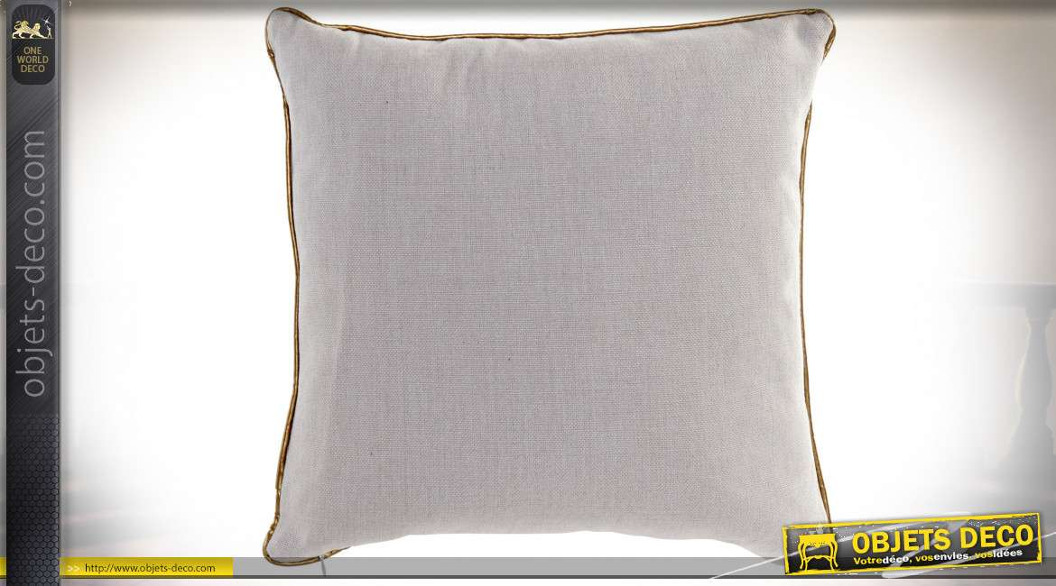 COUSSIN POLYESTER 45X45 620 GR. FEUILLES
