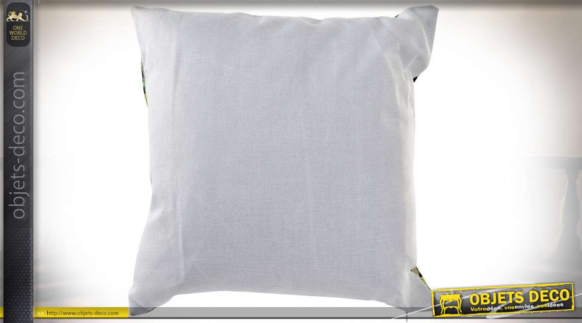 COUSSIN POLYESTER 45X45 530 GR. PERROQUET 2 MOD.