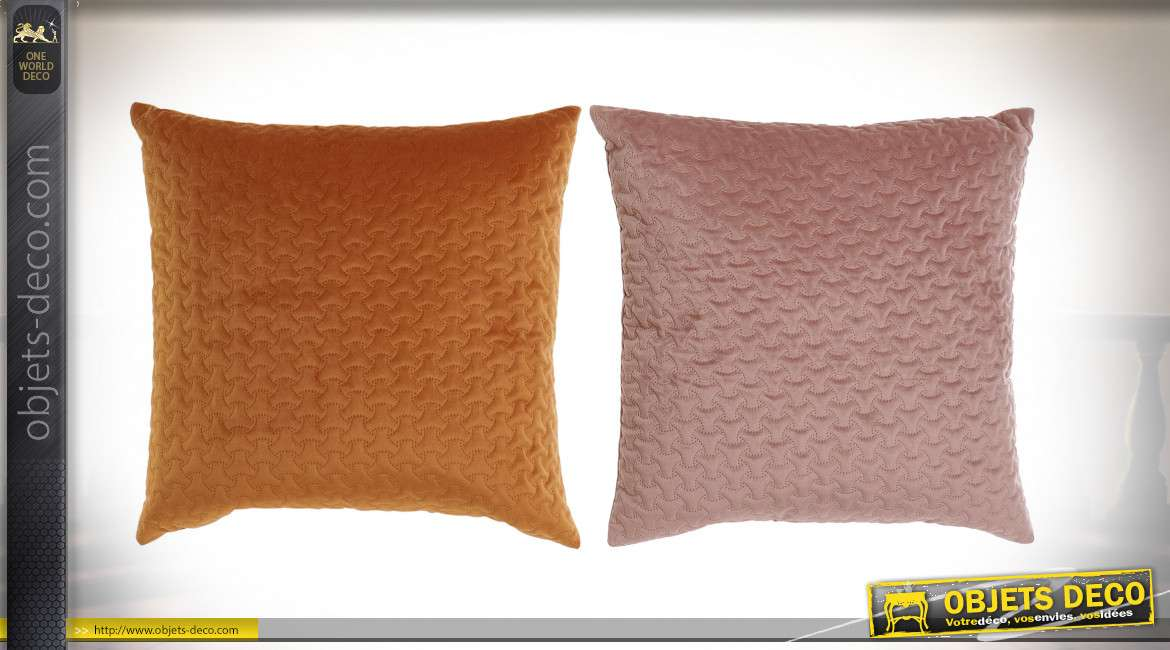 COUSSIN POLYESTER 43X43 560 GR. VELOURS 2 MOD.