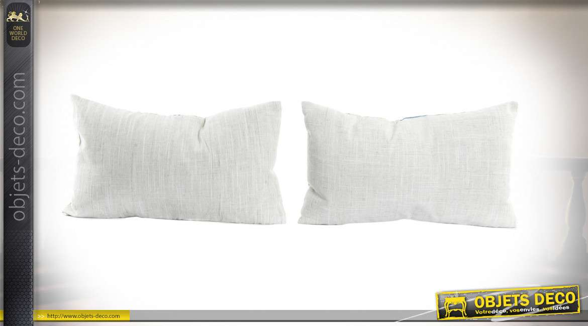 COUSSIN POLYESTER 50X30 FLAMANDS 2 MOD.