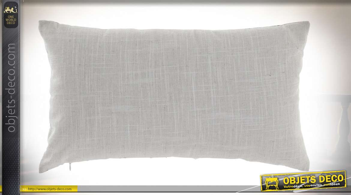COUSSIN POLYESTER 50X30 456 GR. MARBRE 2 MOD.