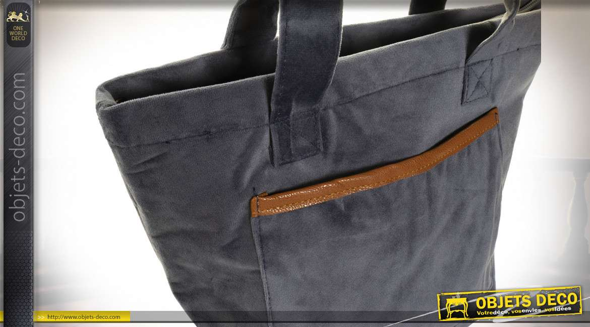 POCHE THERMIQUE POLYESTER 35X14X35 VELOURS 3 MOD.