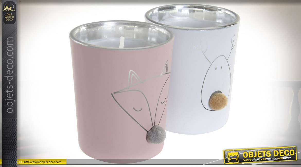 BOUGIE CIRE VERRE 5,5X5,5X6,5 FOR T 2 MOD.