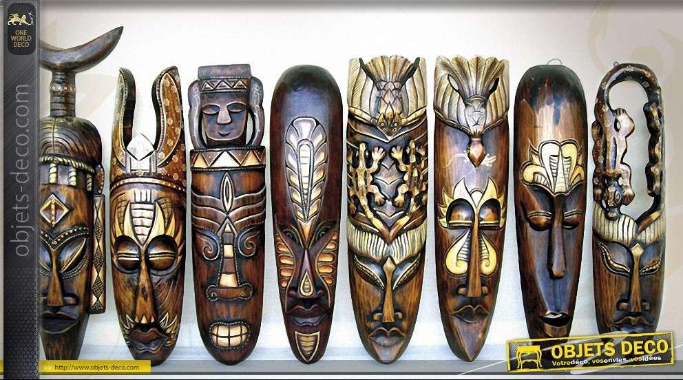masque africain quel bois