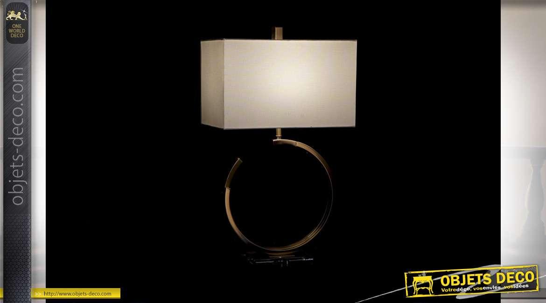 LAMPE DE TABLE MÉTAL ACRYLIQUE 20X20X45 2 MOD.
