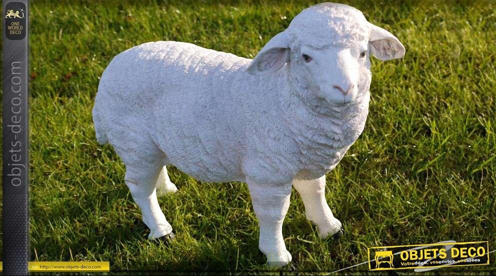 Statuette animalière de mouton