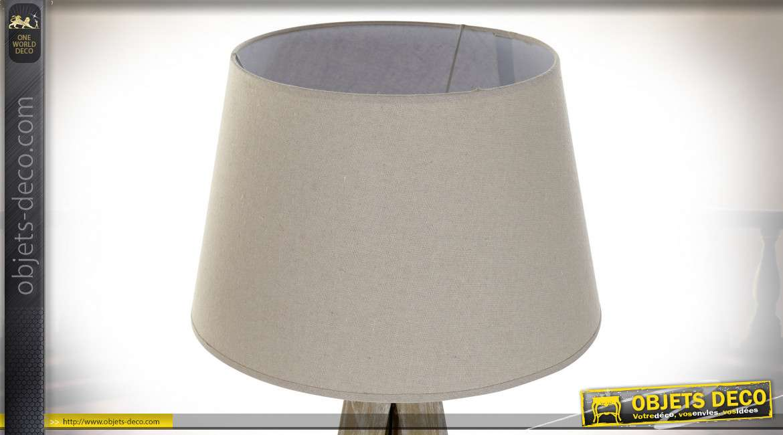 LAMPADAIRE PIN LIN 40X40X154 TRIPODE 2 MOD.
