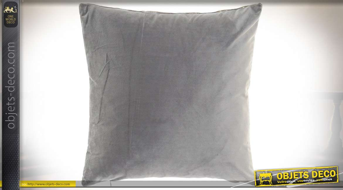 COUSSIN POLYESTER VELOURS 45X10X45 538GR. 3 MOD.