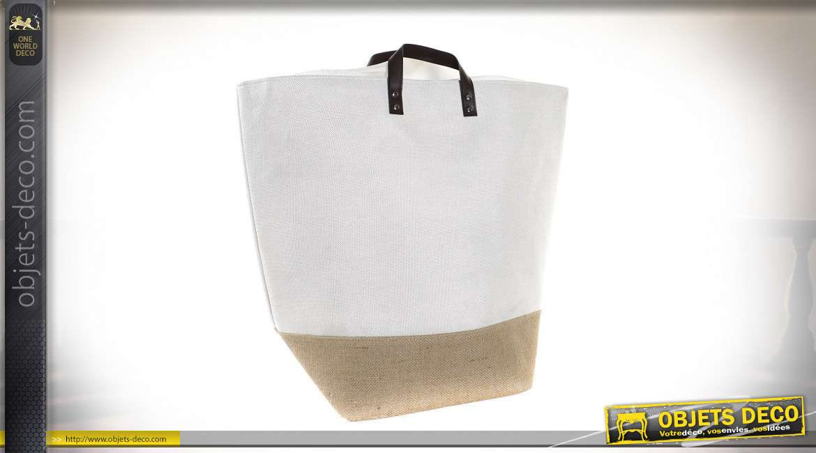 PANIER LINGE POLYESTER 30X30X50 BLANCHISSERIE 3 MO