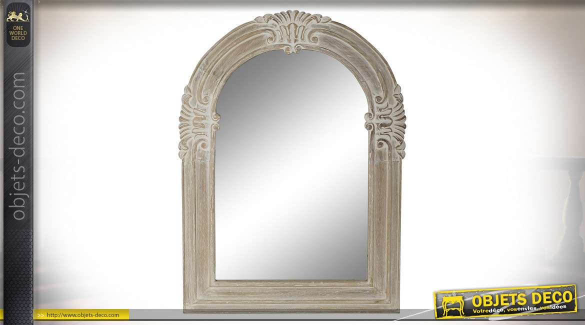 MIROIR MANGUE MIROIR 86X4X115 NATUREL