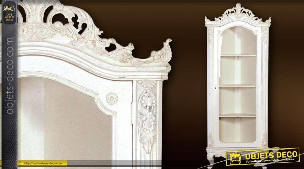 Château Vitrine d'angle style de baroque collection 1JclFK