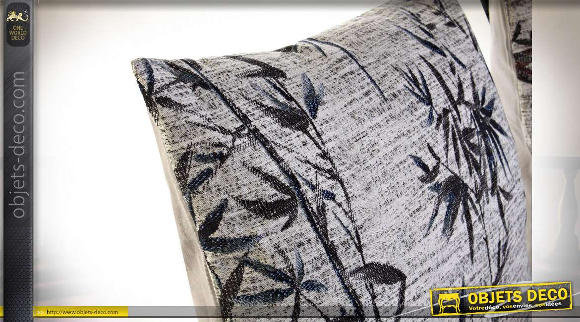 COUSSIN POLYESTER 45X10X45 350 GR. BAMBOU 2 MOD.