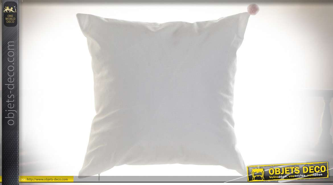 COUSSIN POLYESTER 40X10X40 350 GR KG LAPINS 2 MOD.