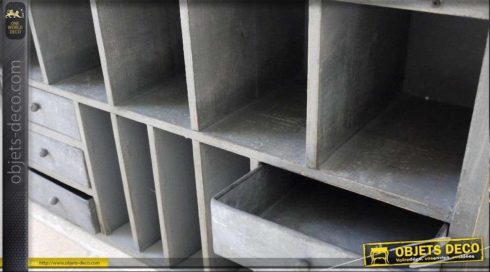Meuble de rangement style industriel vintage for Rangement industriel