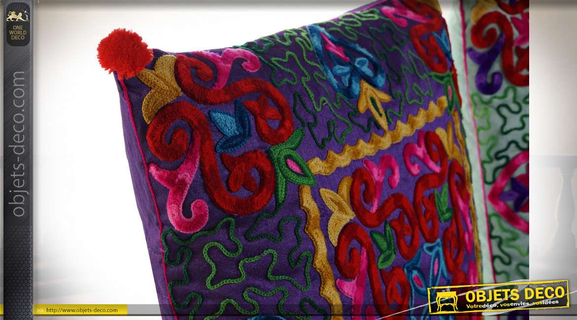 COUSSIN POLYESTER 40X7X40 450 GR, 2 MOD.