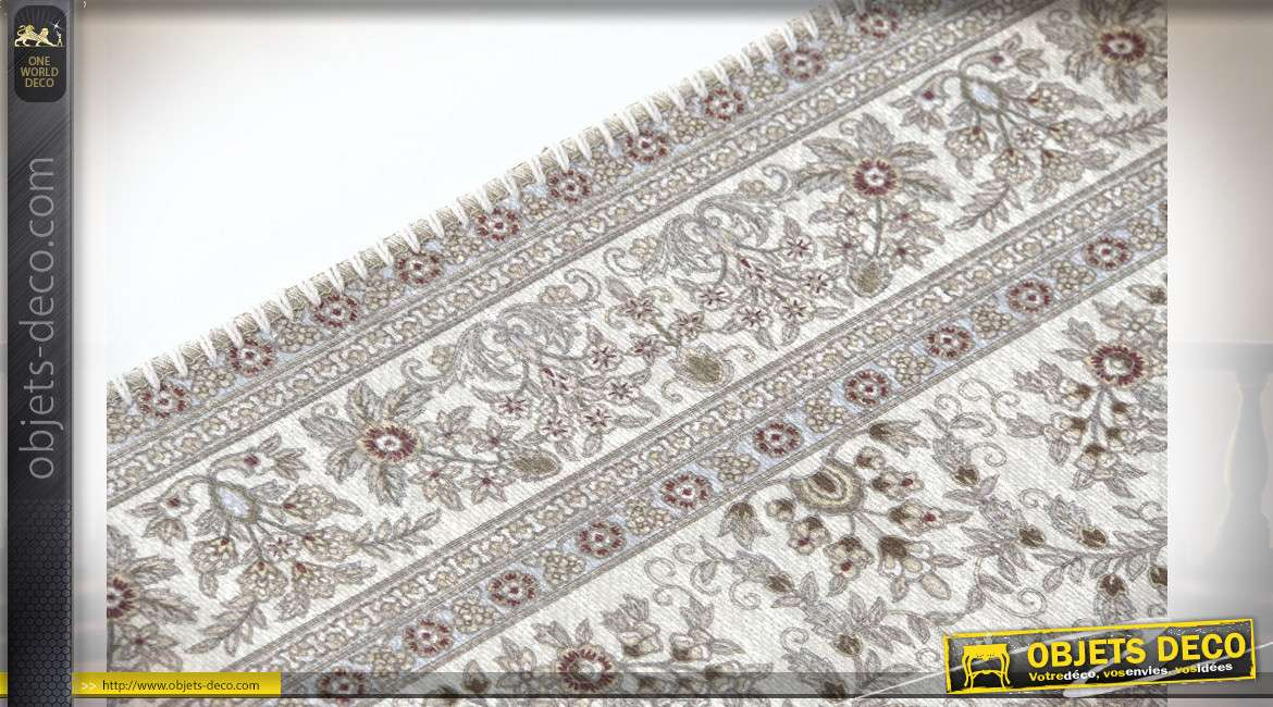 TAPIS POLYESTER 60X238X1 1000 GSM MULTICOLORE