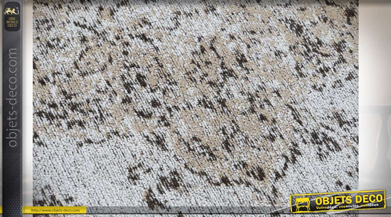 Grand tapis rectangulaire en coton et polyester de style ancien, 200x290cm