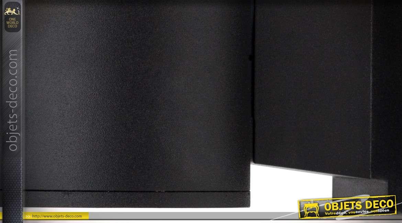 Applique murale extérieure modèle Cuba coloris noir certifiée IP65