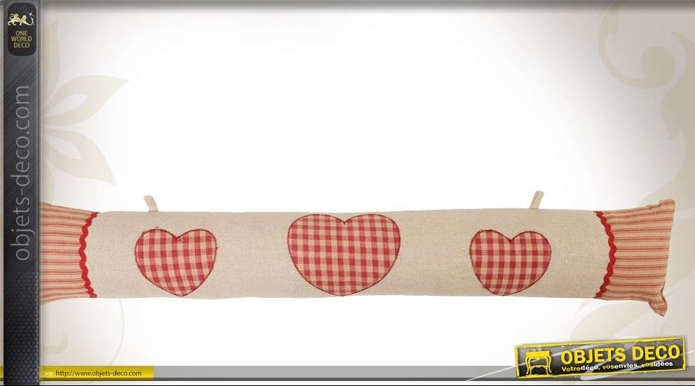 boudin bas de porte d coratif style campagne chic. Black Bedroom Furniture Sets. Home Design Ideas