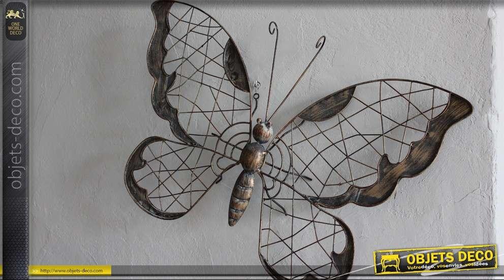 Decoration Murale En Fer Forge Papillon
